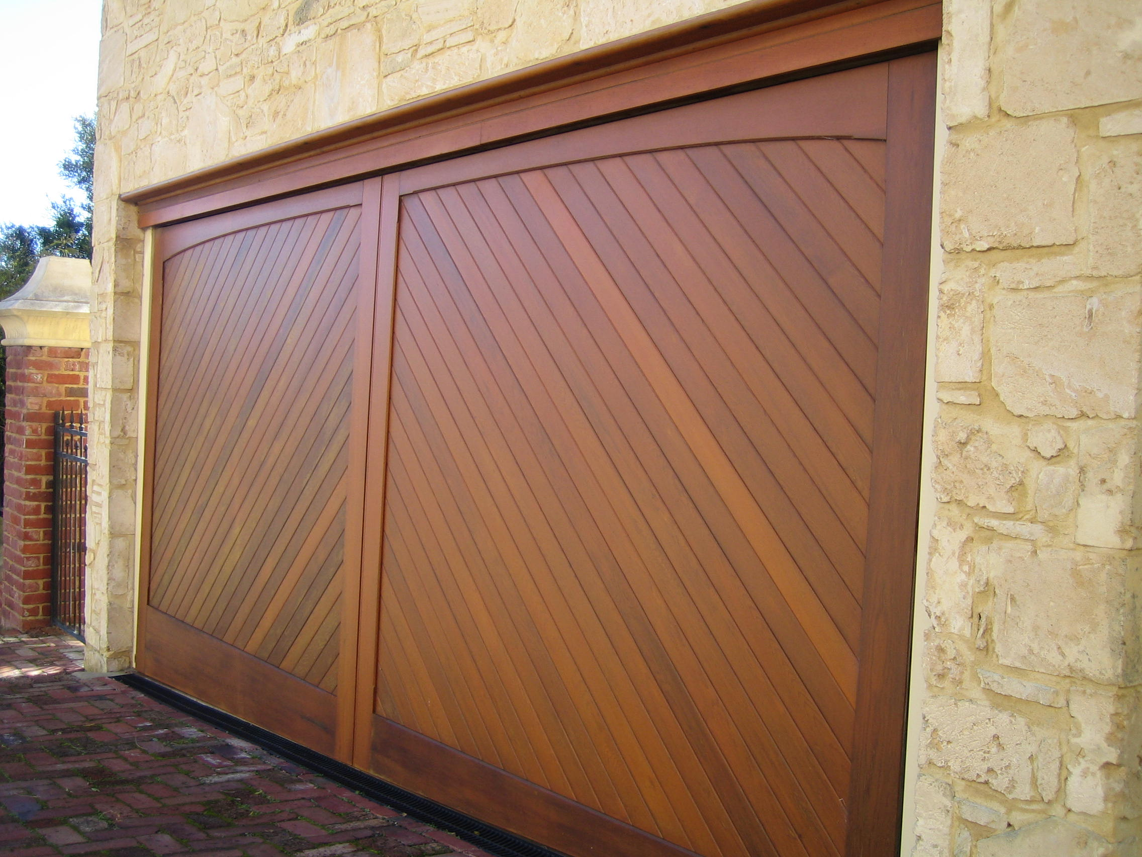how much does a wooden garage door cost
